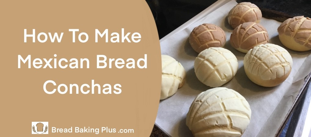 How To Make Mexican Bread Conchas